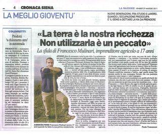 Francesco Mulinari_La nazione 27.05.2011