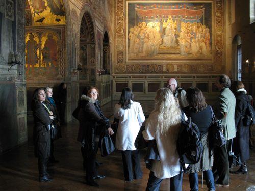 Il gruppo dell'Educational al Museo