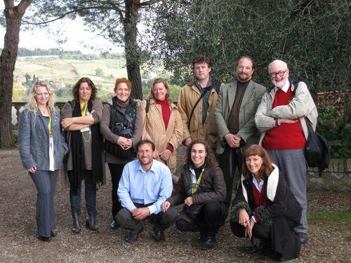 Il gruppo dell'Educational con Enrico Fanciulli