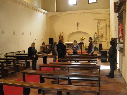 La Chiesa della Grancia di Spedaletto