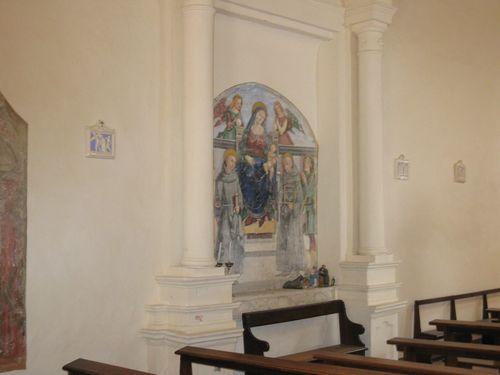Particolare della Chiesa