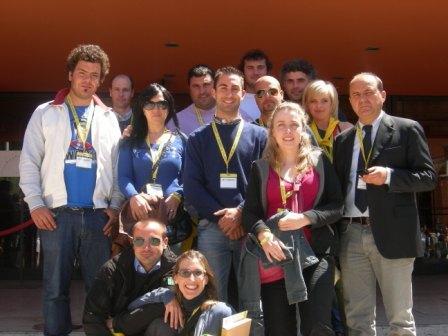 Il gruppo dei giovani a Roma - 17/05/2012